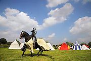 Nederland, Doornenburg, 16-8-2009Bij kasteel Doornenburg werden dit weekend ridderspelen gehouden. In verschillende rondes kwam uiteindelijk een winnaar bij het steekspel, te paard met een lans de tegenstander raken.Foto: Flip Franssen/Hollandse Hoogte