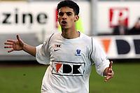 Fotball<br /> Belgia<br /> Foto: PhotoNews/Digitalsport<br /> NORWAY ONLY<br /> <br /> GAND GENT 01/04/2006<br /> <br /> KAA GENT - FC BRUGES <br /> <br /> MBARK BOUSSOUFA