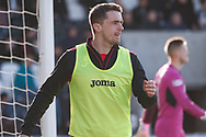 Stephen McGinn of St Mirren awaits his call up from the bench during the Ladbrokes Scottish Premiership match between St Mirren and Dundee at the Paisley 2021 Stadium, St Mirren, Scotland on 30 March 2019.