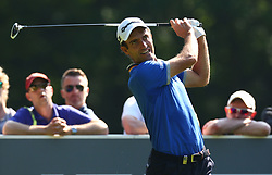May 25, 2017 - Virginia Water, United Kingdom - Edoardo Molinari of Italy.during 1st Round for the 2017 BMW PGA Championship on the west Course at Wentworth on May 25, 2017 in Virginia Water,England  (Credit Image: © Kieran Galvin/NurPhoto via ZUMA Press)