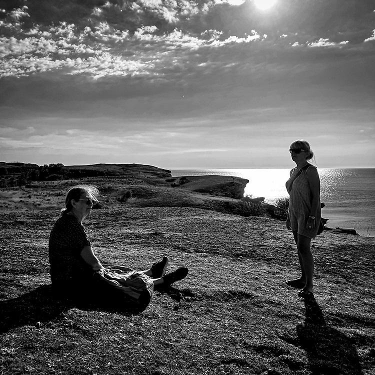 Hoburgen, Gotlands sydspets.<br /> PHOTO © Bernt Lindgren