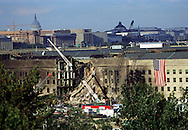 A 27 MG FILE FROM FILM OF:..The Pentagon on Friday the 14th of September with the Capitol in background. Photo by Dennis Brack