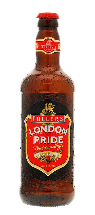 Bottle of Fullers London Pride Ale