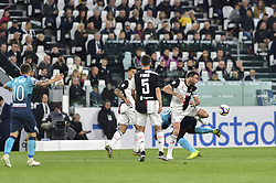 May 19, 2019 - Turin, Turin, Italy - Andrea Barzagli, Miralem Pjanic of Juventus FC and Papu G—mez,  of Atalanta BC during the Serie A match at Allianz Stadium, Turin (Credit Image: © Antonio Polia/Pacific Press via ZUMA Wire)