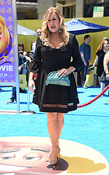 July 23, 2017 - Westwood, California, U.S. - Jennifer Coolidge arrives for the premiere of the film 'The Emoji Movie' at the Regency Village theater. (Credit Image: © Lisa O'Connor via ZUMA Wire)