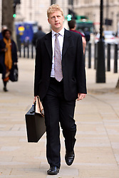 © Licensed to London News Pictures. 23/05/2013. London, UK Jo Johnson arrives at the Cabinet Office ahead of a meeting of COBRA (Cabinet Office Briefing Room A) to discuss yesterday's alleged terrorist attack in Woolwich. Photo credit : Stephen Simpson/LNP