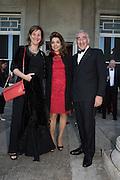 LADY DEBORAH KESTENBAUM;  CAROL SOPHER; RICK SOPHER, Opening of Grange Park Opera, Fiddler on the Roof, Grange Park Opera, Bishop's Sutton, <br /> Alresford, 4 June 2015