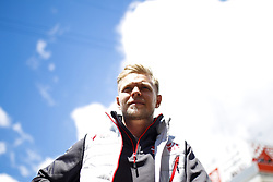 May 13, 2018 - Barcelona, Catalonia, Spain - May 13th, 2018 - Circuit de Barcelona-Catalunya, Montmelo, Spain - Race of Formula One Spanish GP 2018; Kevin Magnussen of Haas F1 Team during the drivers parade. (Credit Image: © Eric Alonso via ZUMA Wire)