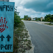 The Cape Eleuthera Institute pays local fisherman for their lionfish. They use the meat to feed students at the local schools and the tails are dried and used to make jewellery.