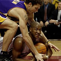 3.19.06 Los Angeles Lakers at Cleveland Cavaliers