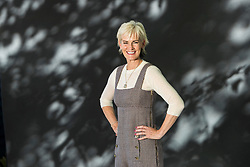 Judy Murray appearing at the Edinburgh International Book Festival<br /> <br /> Judy Murray, OBE is a Scottish tennis coach. She is the mother of professional tennis players Jamie and Andy Murray.