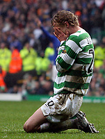 Photo: Paul Thomas.<br /> Glasgow Celtic v Glasgow Rangers. Bank of Scotland Scottish Premier League. 11/03/2007.<br /> <br /> Jiri Jarosik of Celtic shows his frustration.