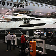 London,England, UK : 8th Jan 2016 : Lucy Wason officially open the 62th London Boat Show 2016 at London Excel.Photo by See Li