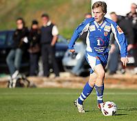 Fotball<br /> La Manga 2006<br /> Tromsø v KR Reykjavik<br /> 13.02.2006<br /> Foto: Morten Olsen, Digitalsport<br /> <br /> Ruben Jensen