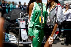 June 10, 2018 - Montreal, Canada - Motorsports: FIA Formula One World Championship 2018, Grand Prix of Canada  Model Winnie Harlow  Singer Ciara  (Credit Image: © Hoch Zwei via ZUMA Wire)