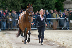 Blom Merel, (NED), Rumour Has It<br /> First Horse Inspection - Mitsubishi Motors Badminton Horse Trials <br /> Badminton 2015