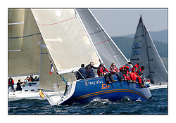 Bell Lawrie Scottish Series 2008. Fine North Easterly winds brought perfect racing conditions in this years event...IRL29213, Something Else, Hall/McDonnell/Hall, National YC, J109