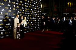 December 3, 2018 - Paris, France, France - Luka Modric sa femme Vanja et leurs enfants (Credit Image: © Panoramic via ZUMA Press)