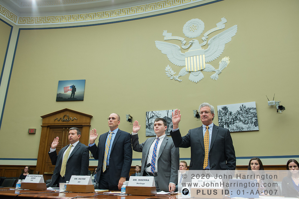 Wednesday September 14, 2017 hearing before the U.S. House Subcommittee on National Security hearing to address the scope of radicalization, and assess what steps can be taken to mitigate the rise of terror via lone wolf attacks and organized terrorist plots, with testimony by Mr. Daveed Gartenstein-Ross, Senior Fellow, Foundation for Defense of Democracies; Mr. Matt Mayer, Visiting Fellow, Homeland Security Studies, American Enterprise Institute; Mr. David Inserra, Policy Analyst, Foreign and National Security Policy, The Heritage Foundation; Mr. Richard Cohen,President,Southern Poverty Law Center.