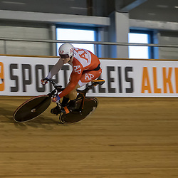 27-12-2017: Wielrennen: NK Baan: Alkmaar<br />Jeffrey Hoogland