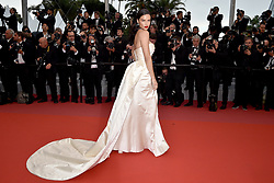 Cannes Long Gowns - Adriana Lima attends the Burning screening held at the Palais des Festivals on May 16, 2018 in Cannes, France as part of the 71st annual Cannes Film Festival. Photo by Lionel Hahn/ABACAPRESS.COM