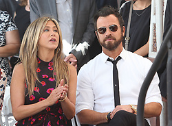 Amanda Anka, Francesca Bateman, Jason Bateman and Maple Bateman at the ceremony honoring Jason Bateman with the 2,616th star on the Hollywood Walk of Fame in Los Angeles, California. 26 Jul 2017 Pictured: Jennifer Aniston and Justin Theroux. Photo credit: FS/MPI/Capital Pictures / MEGA TheMegaAgency.com +1 888 505 6342