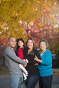 The Khong family poses for portraits in San Jose, California, on November 23, 2014. (Stan Olszewski/SOSKIphoto)
