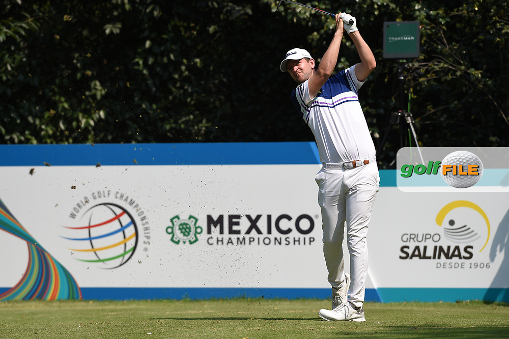 Bernd Wiesberger (AUT) and Dustin Johnson (USA) during Rd4 of the World Golf Championships, Mexico, Club De Golf Chapultepec, Mexico City, Mexico. 2/23/2020.<br /> Picture: Golffile   Ken Murray<br /> <br /> <br /> All photo usage must carry mandatory copyright credit (© Golffile   Ken Murray)