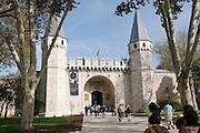 Turkey, Istanbul, Topkapi Palace Main entrance