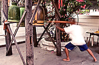 Ringing the Temple Bell