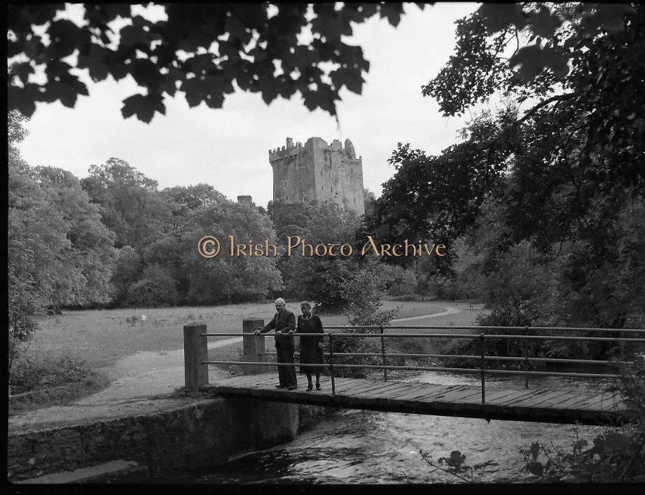 Views - Blarney Castle, Blarney, Co. Cork.<br /> <br /> 01/02/1957