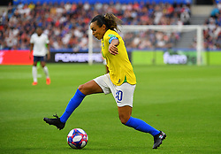 Brazil's Marta during FIFA Women's World Cup France group A match France v Brazil on June 23, 2019 in Le Havre, France. France won 2-1 after extra time reaching quarter-finals. Photo by Christian Liewig/ABACAPRESS.COM
