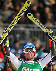 21.01.2011, Hahnenkamm, Kitzbuehel, AUT, FIS World Cup Ski Alpin, Men, Super G, im Bild // Georg Streitberger (AUT) // during the men super g race at the FIS Alpine skiing World cup in Kitzbuehel, EXPA Pictures © 2011, PhotoCredit: EXPA/ S. Trimmel
