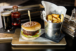 Food menu items in the Ashton Gate Stadium Sports Bar and Grill - Mandatory byline: Rogan Thomson/JMP - 14/03/2016 - Ashton Gate Stadium - Bristol, England.