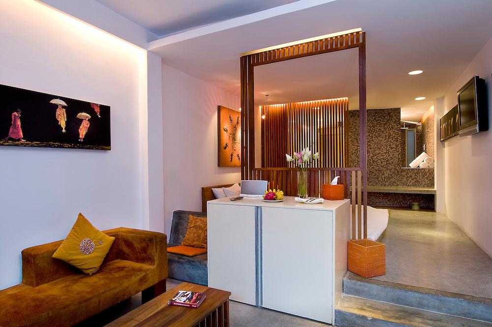 Hotel BE - Saffron room.