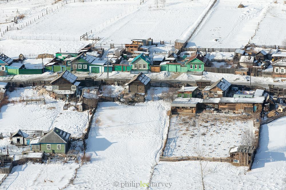Listvyanka Port Baykal on the shores of Lake Baikal, Siberia, Russia