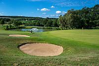WISSMANNSDORF  - Duitsland - hole  17. Golf-Resort Bitburger Land. COPYRIGHT KOEN SUYK