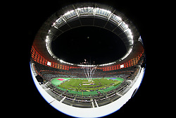 A general view during the trophy presentation during the UEFA Europa League final at The Olympic Stadium, Baku, Azerbaijan.