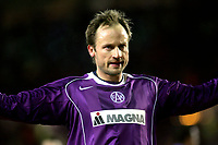 ◊Copyright:<br />GEPA pictures<br />◊Photographer:<br />Thomas Karner<br />◊Name:<br />Rushfeldt<br />◊Rubric:<br />Sport<br />◊Type:<br />Fussball<br />◊Event:<br />UEFA Cup, Austria Magna Wien vs Real Saragossa<br />◊Site:<br />Wien, Austria<br />◊Date:<br />10/03/05<br />◊Description:<br />Sigurd Rushfeldt (A.Wien)<br />◊Archive:<br />DCSTK-1003054003<br />◊RegDate:<br />10.03.2005<br />◊Note:<br />9 MB - SU/SU - Nutzungshinweis: Es gelten unsere Allgemeinen Geschaeftsbedingungen (AGB) bzw. Sondervereinbarungen in schriftlicher Form. Die AGB finden Sie auf www.GEPA-pictures.com.<br />Use of picture only according to written agreements or to our business terms as shown on our website www.GEPA-pictures.com