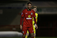 Anton Forrester during the Barclays U21 Premier League match between U21 Brighton and Hove Albion and U21 Blackburn Rovers at the Checkatrade.com Stadium, Crawley, England on 4 April 2016.