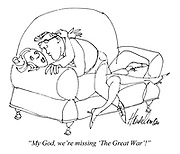 """My God, we're missing 'The Great War'!"""