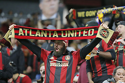 December 8, 2018 - Atlanta, GA, USA - The Atlanta United soccer team plays the Portland Timbers for the MLS Cup, the championship game of the Major League Soccer League at Mercedes-Benz Stadium in Atlanta. (Credit Image: © Curtis Compton/Atlanta Journal-Constitution/TNS via ZUMA Wire)