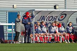 Tanya Oxtoby manager of Bristol City Women looks on - Mandatory by-line: Paul Knight/JMP - 28/10/2018 - FOOTBALL - Stoke Gifford Stadium - Bristol, England - Bristol City Women v Arsenal Women - FA Women's Super League