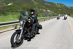 20-Mile Road - Steamboat Lake ride during the Rocky Mountain Regional HOG Rally, Colorado, USA. Saturday June 10, 2017. Photography ©2017 Michael Lichter.