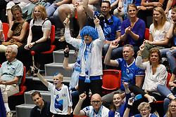 20180505 NED: Eredivisie Seesing Personeel Orion - Abiant Lycurgus, Doetinchem<br />Heiko Treichel, fanatiek Abiant Lycurgus fan<br />©2018-FotoHoogendoorn.nl