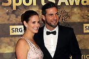 Manuel Burkart mit Ehefrau Michèle anlässlich der Verleihung der Sports Awards 2019.