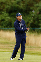 Golf - 2019 Senior Open Championship at Royal Lytham & St Annes - Fiinal Round <br /> <br /> Golf legend Tom Watson (USA) plays in what may be his last competitive round in the UK after he announced yesterday that he would no longer play in senior majors, such as the Senior Open.<br /> <br /> COLORSPORT/ALAN MARTIN
