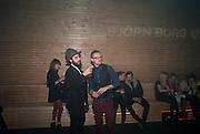 GIUSEPPE CERVICATO; JEREMY HERPSON, ' We think you rock' Bjorn Borg launch. Battersea Power station. London. 16 February 2012.