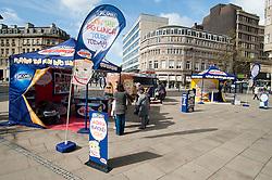 Kingsmill Big Lunch Tour reaches Sheffield.http://www.pauldaviddrabble.co.uk.11 April 2012 .Image © Paul David Drabble