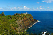 Kilauea Point National Wildlife Refuge, Lighthouse, Kauai, Hawaii